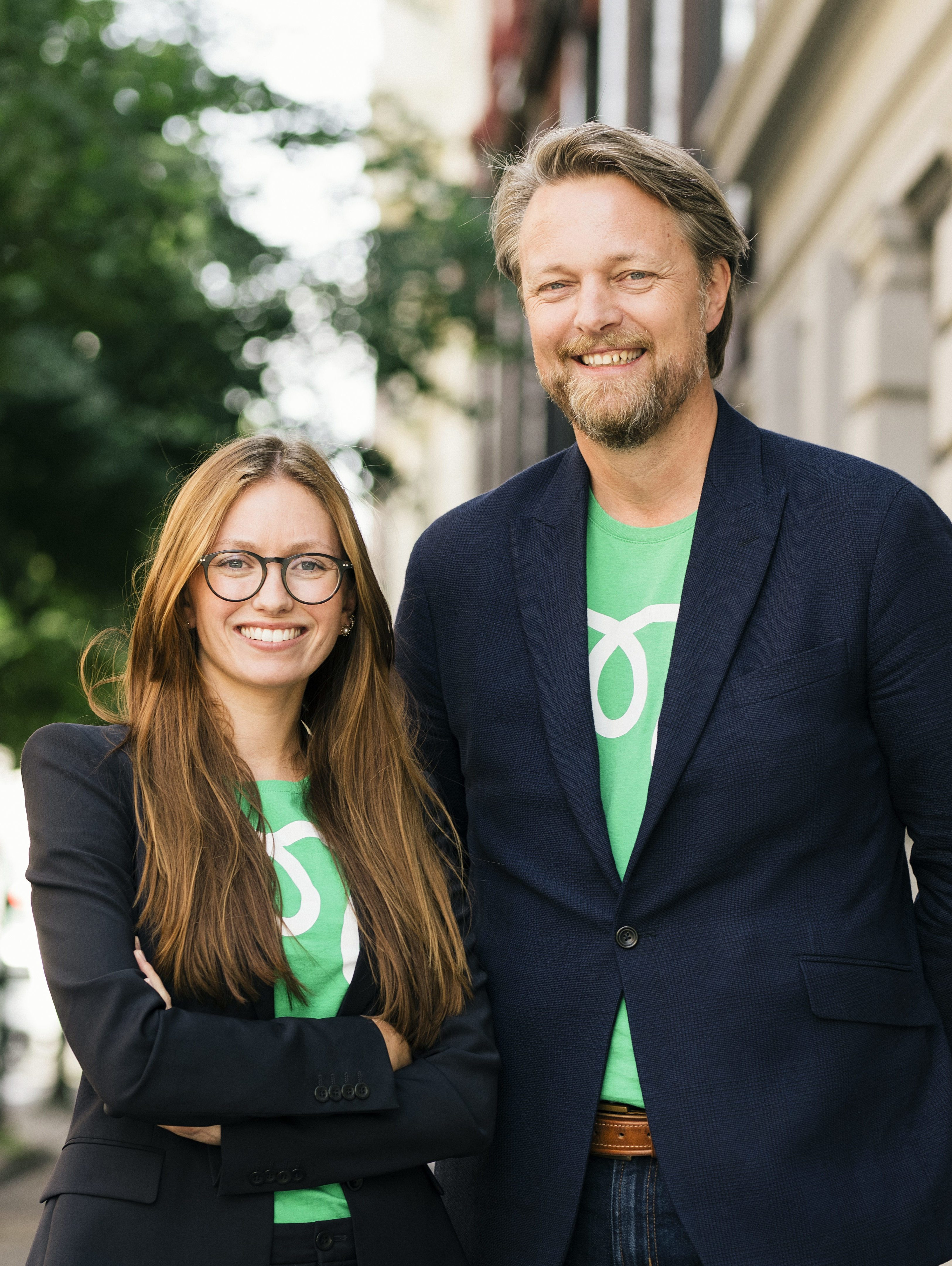 Monner CEO Jarle Holm and Monner CMO Marie Harfjeld - photo