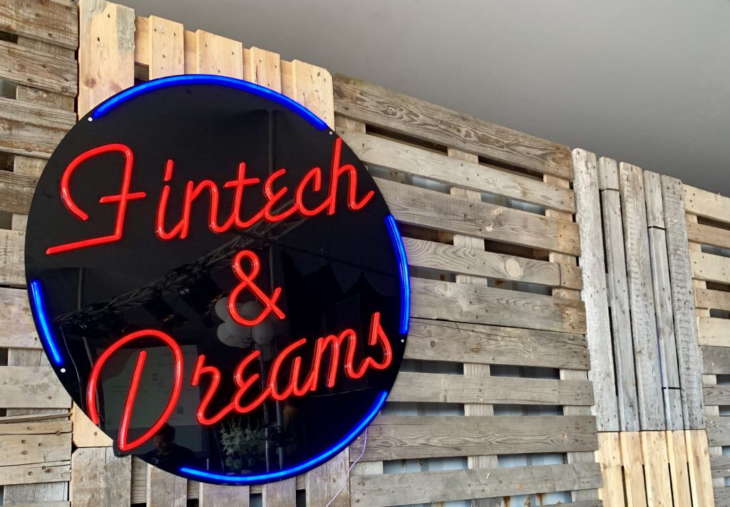Fintech and dreams sign - photo