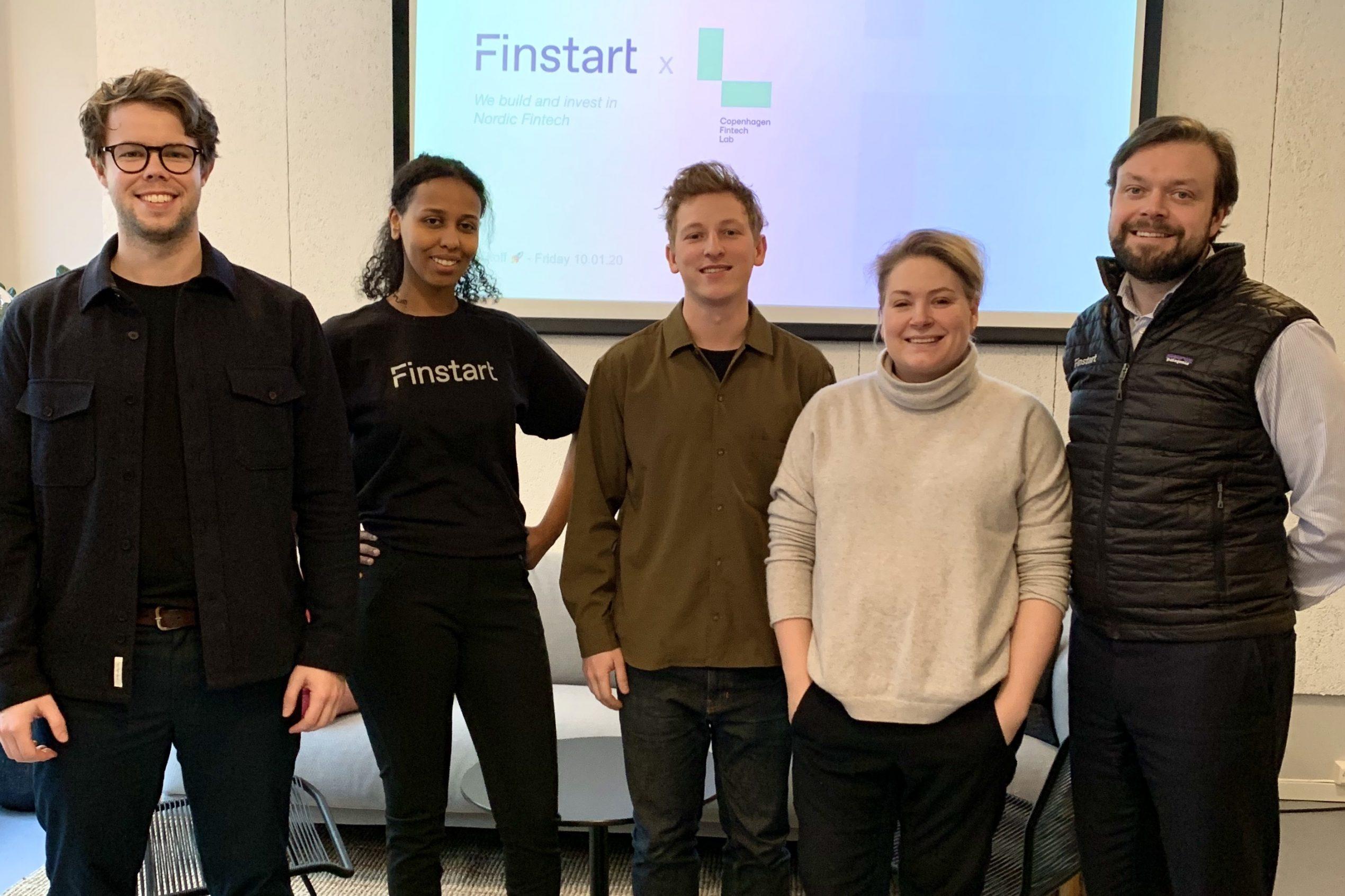 Finstart Nordic and copenhagen fintech team - photo